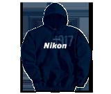 Nikon 1917 Blue Hoodie M