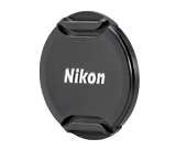 LC-N55 Black Front Lens Cap